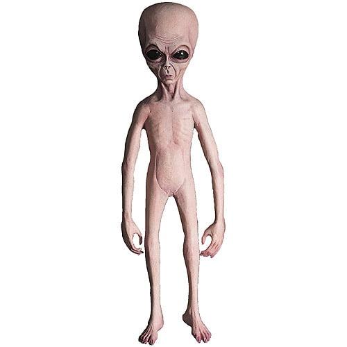 4-1/2' Alien Foam Filled Latex Skin Halloween Prop