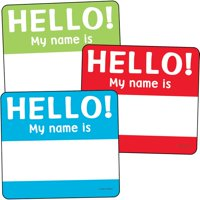 Hello Tags Cut-Outs