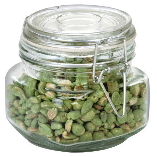 Anchor Hocking Heremes Clamp Jar (Set of 4)