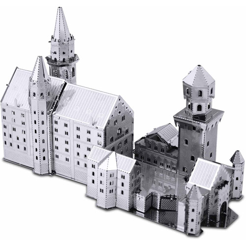 Metal Earth 3D Laser Cut Model, Neushwanstein Castle
