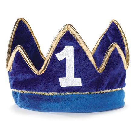 Lil' Prince 1st Birthday Plush Crown ()