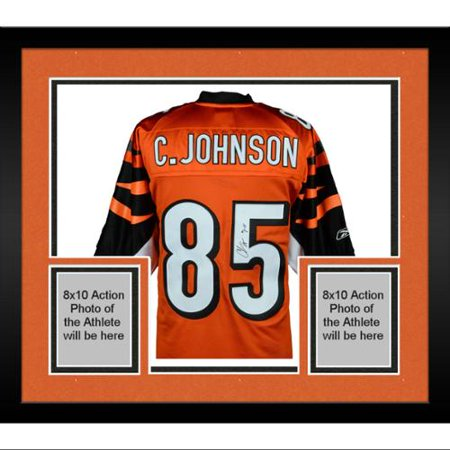 59b781199 Framed Chad Johnson Cincinnati Bengals Autographed Orange Jersey with