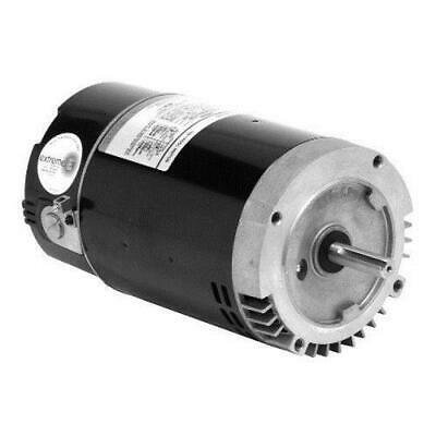 Square Flange Full Rate Motor - U.S. Motors EB2983 Emerson 56Y Square Flange 2-Speed 1-1/2HP Energy Efficient Full Rated Pool and Spa Motor