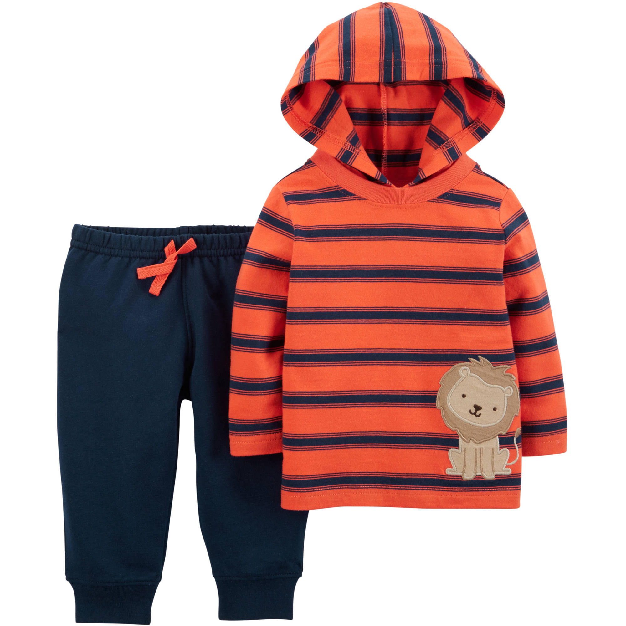 Child of Mine by Carter's Newborn Baby Boy Hoodie and Pants Outfit Set