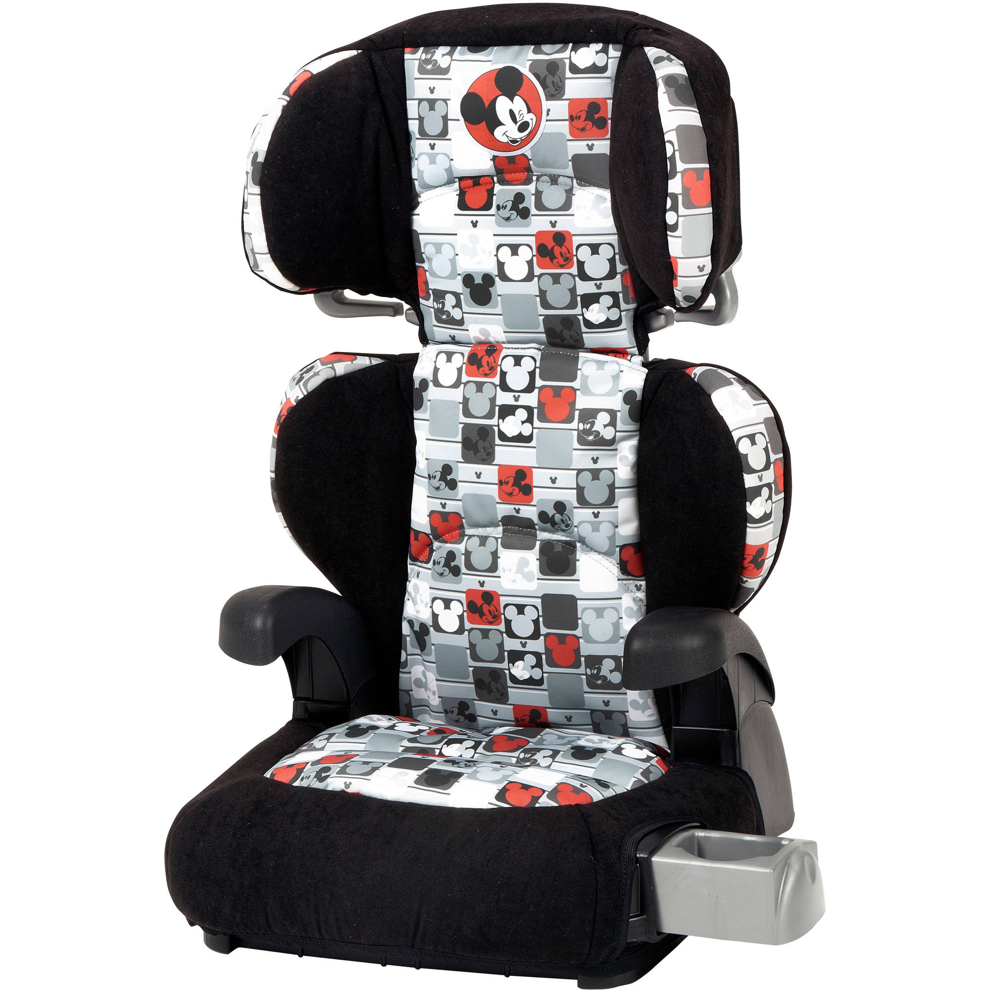 Disney Pronto Booster Car Seat, Mickey Patchwork