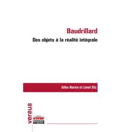 Baudrillard : des objets à la réalité intégrale - eBook](Objets D'halloween)