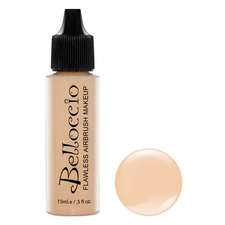 New Belloccio Pro Airbrush Makeup IVORY SHADE FOUNDATION Flawless Face Cosmetics - Halloween Tiger Face Makeup