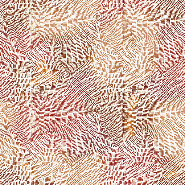 Quilting Treasures Ombre Stitches Brown