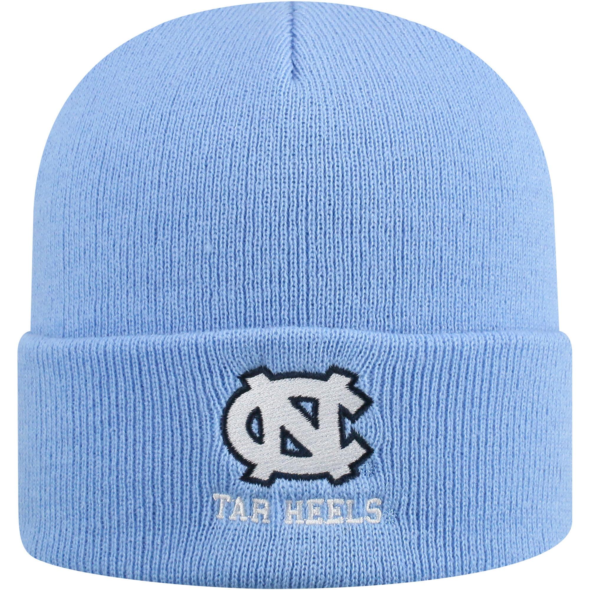 Youth Russell Carolina Blue North Carolina Tar Heels Team Cuffed Knit Hat - OSFA