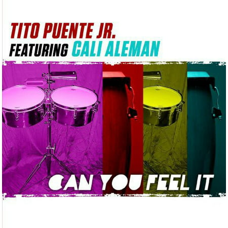 Tito Puente Timbale Stand - Tito Puente Jr - Can You Feel It [CD]