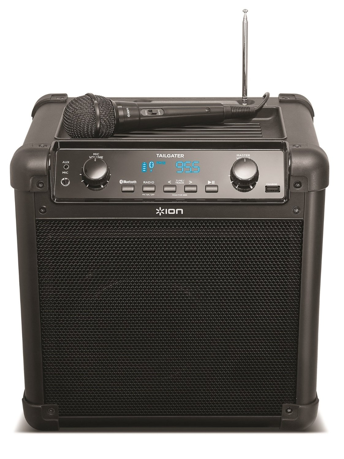 ION Audio Tailgater (iPA77) Portable Bluetooth PA Speaker With Mic, AM/FM