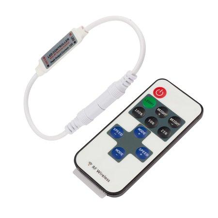Dc 5V Mini 11 Key Controller Dimmer Box W Rf Remote Control For Rgb Light Strip