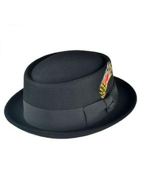 Product Image Wool Felt Pork Pie Hat - L - Black 598ab422259