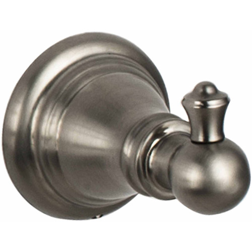Ultra Faucets UFA51033 Brushed Nickel Traditional Robe Hook