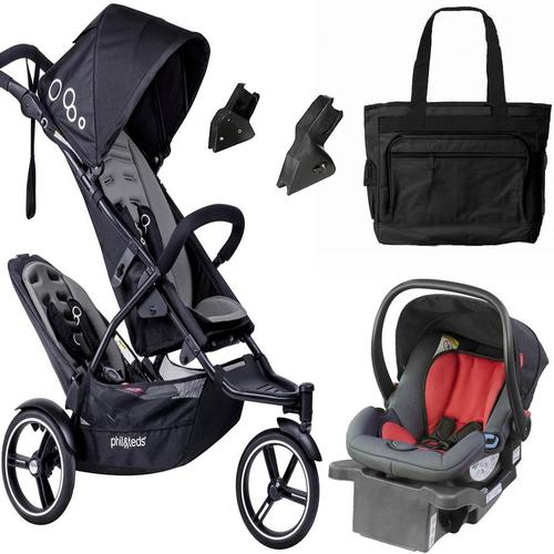 Phil & Teds The Dot Travel System Graphite by phil%26teds