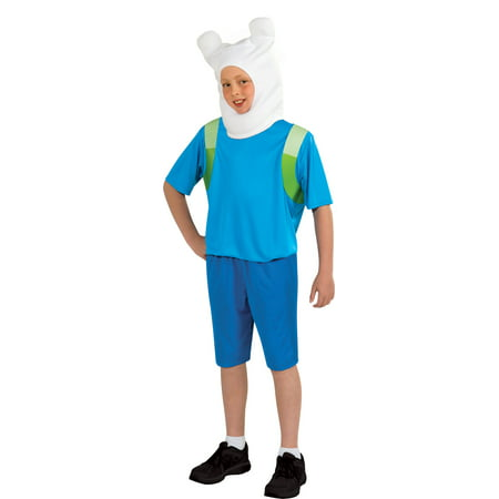 Boys Adventure Time Finn Halloween Costume (Boys In Halloween Costumes)