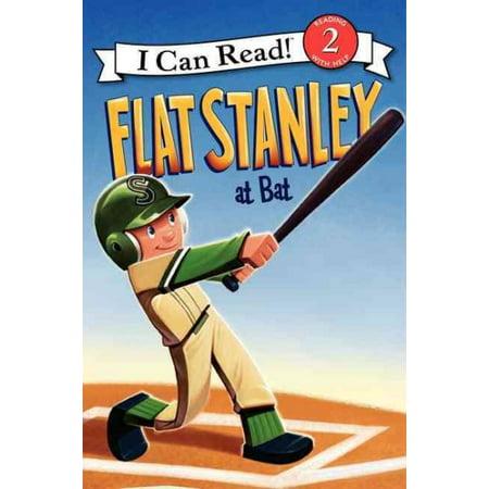 Flat Stanley At Bat