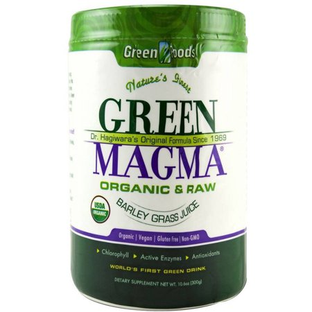 - Green Foods Green Magma Barley Grass, 10.6 OZ
