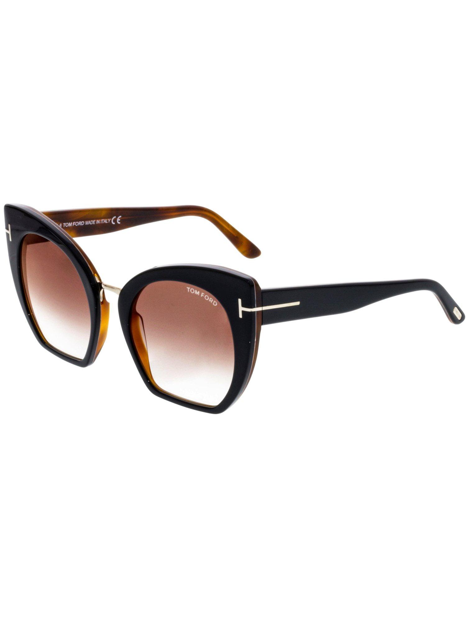 ef8e5616508 Tom Ford - Tom Ford Women s Gradient Samantha FT0553-05U-55 Black Cat Eye  Sunglasses - Walmart.com