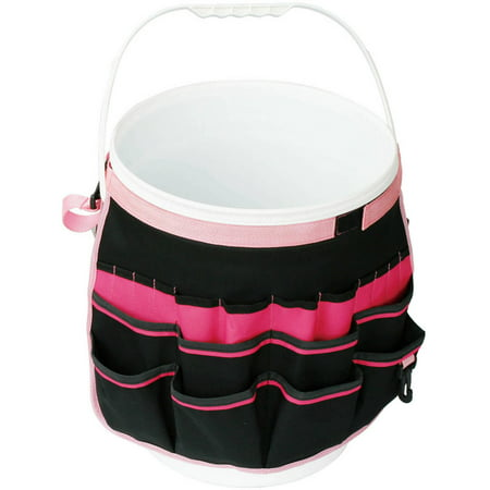 Apollo Tools Bucket Organizer, Pink