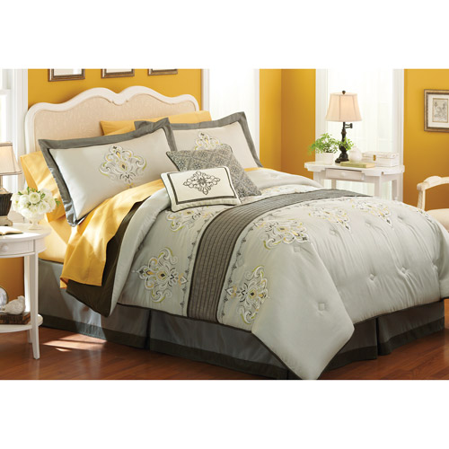 Better Homes and Gardens Fleur De Lis Bedding Comforter Set - Walmart.com