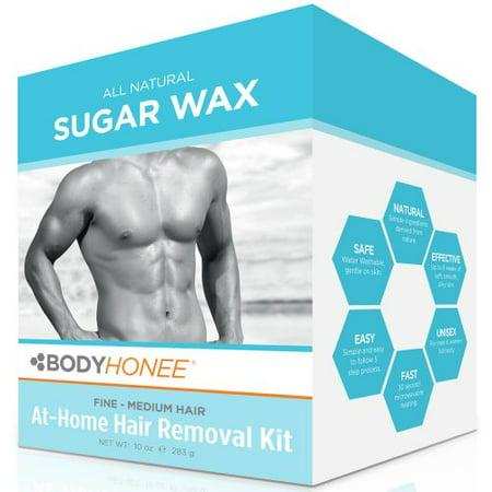 Hair removal waxing kit men women all natural bodyhonee 10 oz hair removal waxing kit men women all natural bodyhonee 10 oz solutioingenieria Choice Image