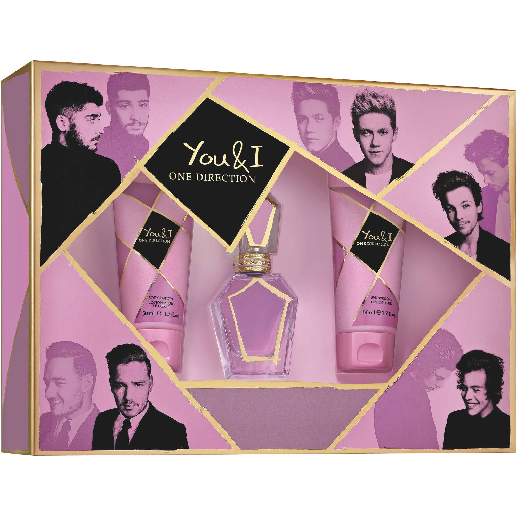 One Direction You & I for Men Fragrance Gift Set, 3 pc