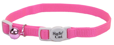 COASTAL PET PRODUCTS Cat Collar, Adjustable, Pink, 12-In. by Coastal Pet Products, Inc.
