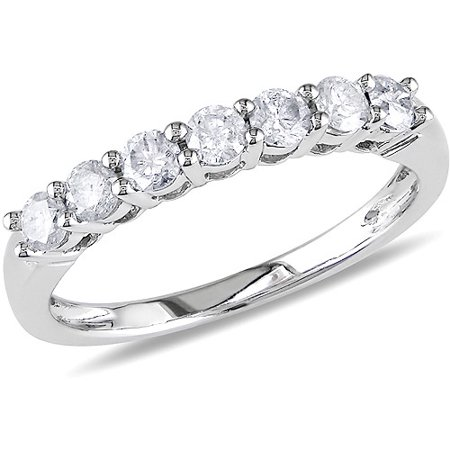 cttw semi ring diamond band wgu bands set xo eternity through lg setting bezel wedding