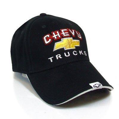 Chevrolet Trucks Black Baseball Cap