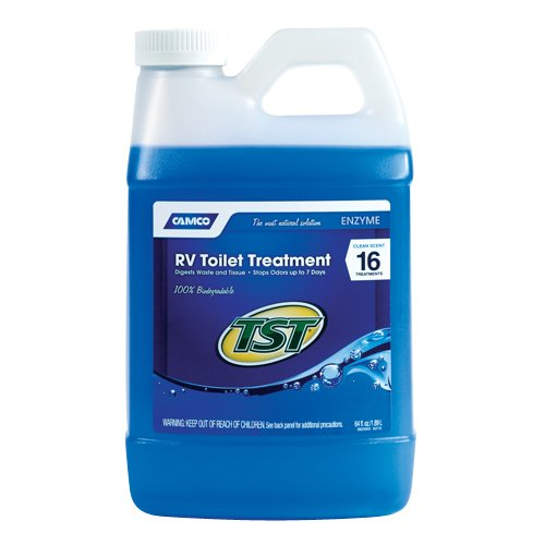 Camco TST Blue Enzyme Toilet Chemical, 64 oz