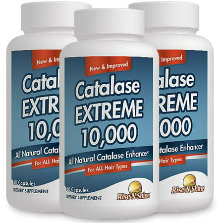 Catalase Extreme 10,000 - Strongest Formula on the Market! Now Available in 3 Month Supply at a Discounted Price! - Formula 3 Month Supply