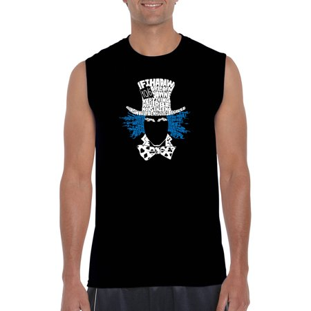 Mad Hatter Shirts (Men's sleeveless t-shirt - the mad)