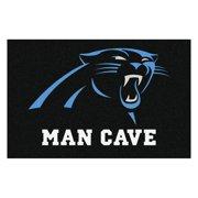 """NFL - Carolina Panthers Man Cave Starter Rug 19""""x30"""""""