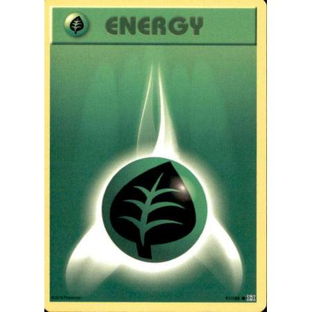 Pokemon Evolutions Grass Energy #91