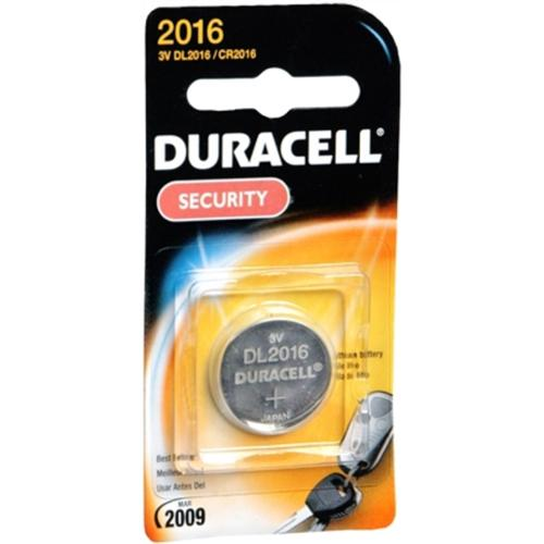 Duracell Lithium Battery Security 3 Volt 2016 1 Each (Pack of 2)