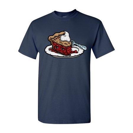 Too Cute To Eat Cherry Pie Adult DT T-Shirts Tee