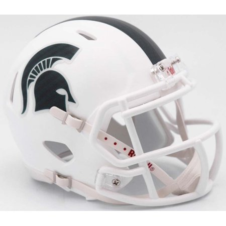 Michigan State Spartans Helmet Riddell Replica Mini Speed Style 2017 Alternate