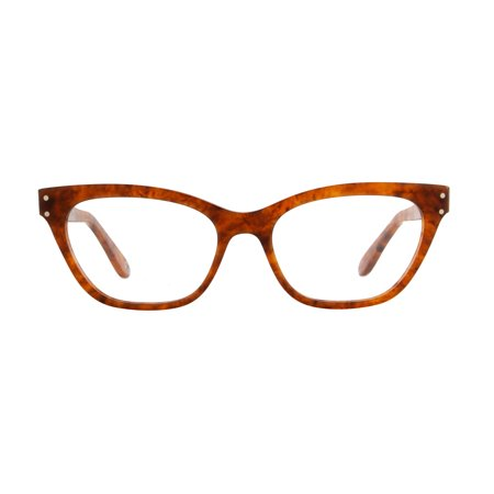 Gucci - GG0570O Havana Cat Eye Women Eyeglasses - 50mm