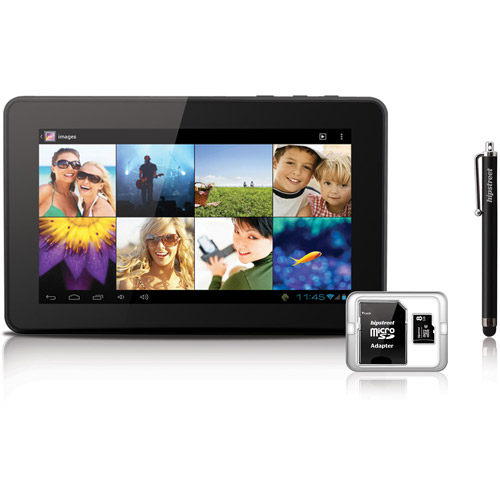 "Hipstreet Titan HS-7TB4-4BNDL with WiFi 7"" Touchscreen Tablet PC Bundle Featuring Android 4.0 (Ice Cream Sandwich) Operating System"