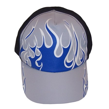 NICE CAPS Boys Kids Childrens Magical Color Changing Flames Baseball Ball Cap Sun Summer Hat ()