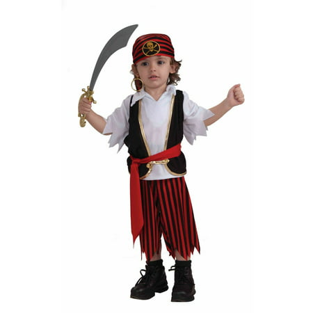 Toddler Lil'Pirate Boy Costume - Cowboy Costume Toddler Boy