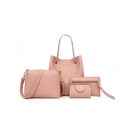 78346323e913 3pcs Lady Women Handbag Shoulder Bags Tote Purse Messenger Satchel -  Walmart.com