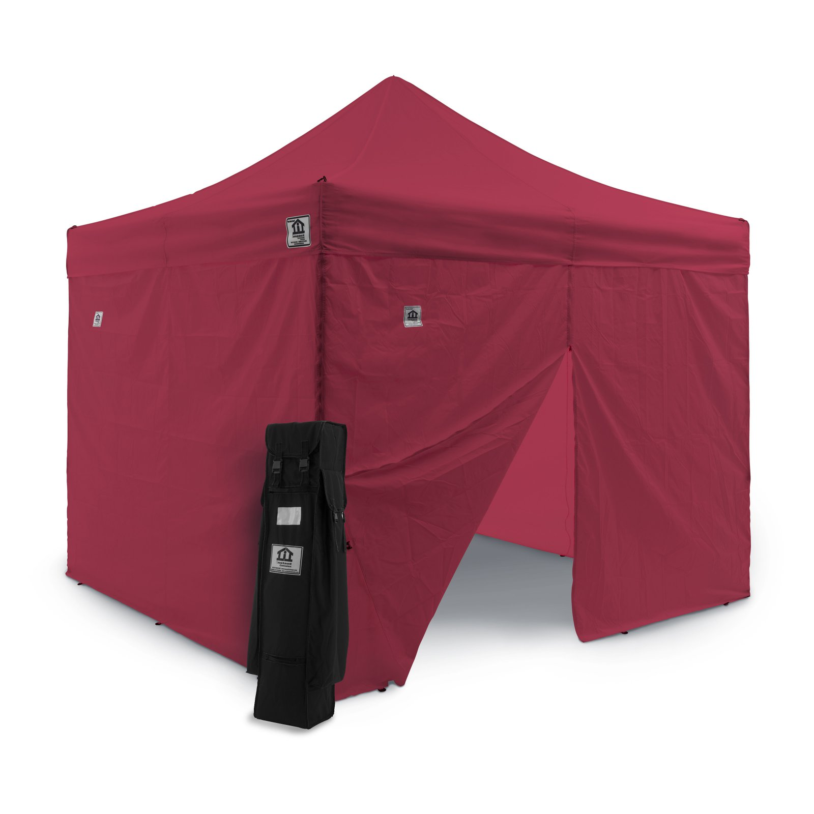 Impact Canopy 10 x 10 ft. Pop Up Canopy with Mosquito Mesh Wall Screen