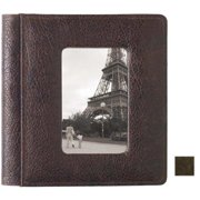 Raika VI 169 BROWN 4in. x 6in. Framed-Front Photo Album Single - Brown