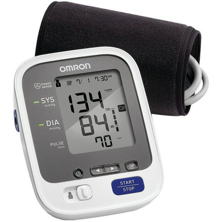 Omron 7 Series Adult Upper Arm Blood Pressure Monitor Desk Model 1-Tube BP760N 1