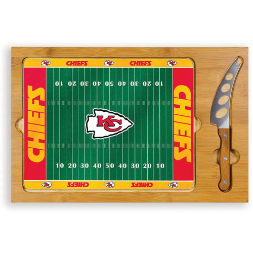 NFL Cutting Board Set by Picnic Time, Icon - Kansas City Chiefs