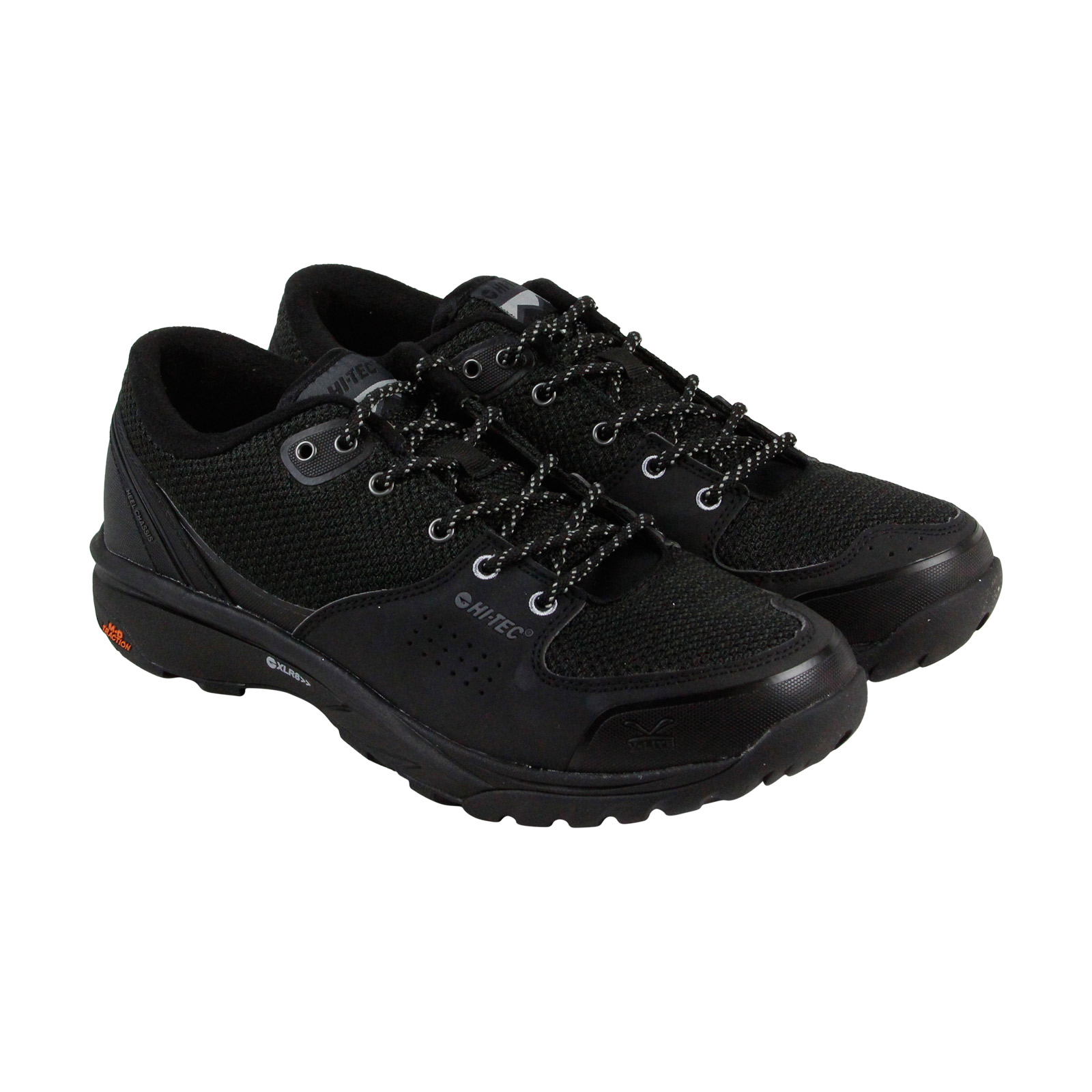 Hi-Tec V Lite Wildlife Low I Mens Black Mesh & synthetic Hiking Boots Shoes by