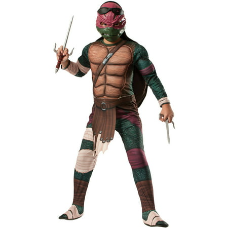 Teenage Mutant Ninja Turtles Raphael Child Halloween Costume - Mens Turtle Costume