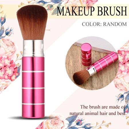 Retractable Face Brush - Retractable Soft Face Cheek Powder Foundation Blush Brush Makeup Cosmetic Tool